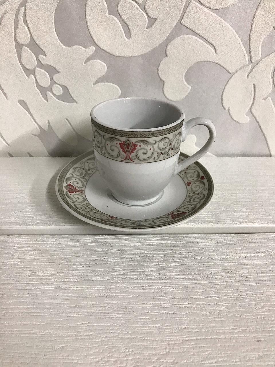 Φλιτζάνια καφέ ελληνικού -Σετ 6τμχ 70cc