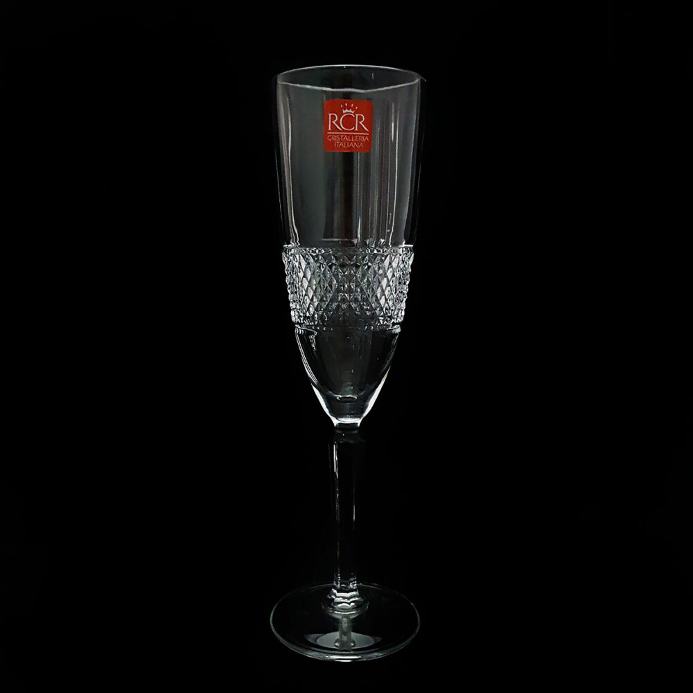Κρυστάλλινα Ποτήρια Σαμπάνιας 6τμχ